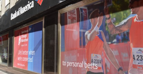 To personal bests indeed, Bank of America the official sponsors, to personal bests indeed